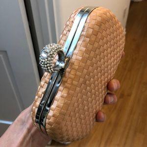 Pink summer clutch